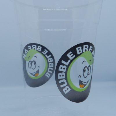 Gobelet bubble break image exemple